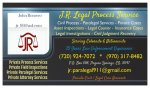 J.R. Legal Process Service & Mortgage Field Inspections