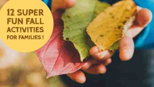 Fun fall activities for families