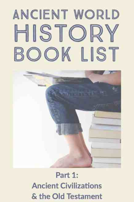 Book List for Ancient World History (Part 1)