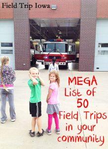 Field Trips in your Local Iowa Community