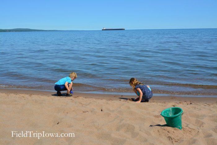 Duluth Minnesota Park Point Beach