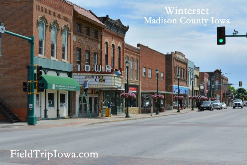 Winterset Town Square - Kid-friendly Weekend in Madison County