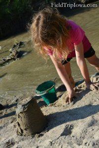 Ledges State Park sand bar