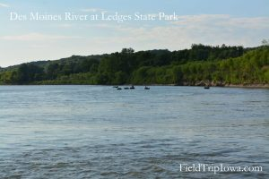 Ledges State Park at Des Moines River
