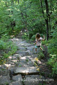 Ledges State Park Stone Steps