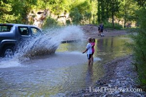 Ledges State Park Creek Ford