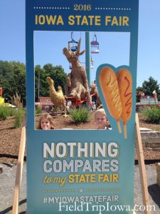 Iowa State Fair Selfie Sign