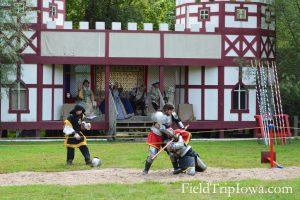 Joust match at the Renaissance Faire at Sleepy Hollow
