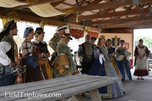 The Royal Audience in the Royal Feast Hall at the Renaissance Faire at Sleepy Hollow