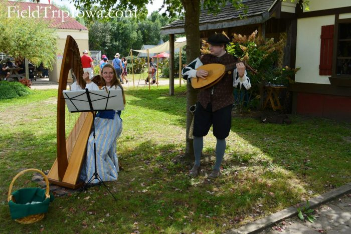 Musicians play at the Renaissance Faire at Sleepy Hollow
