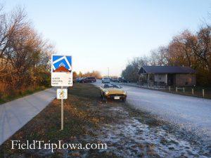 High Trestle Trail Bridge Dalander Parking lot