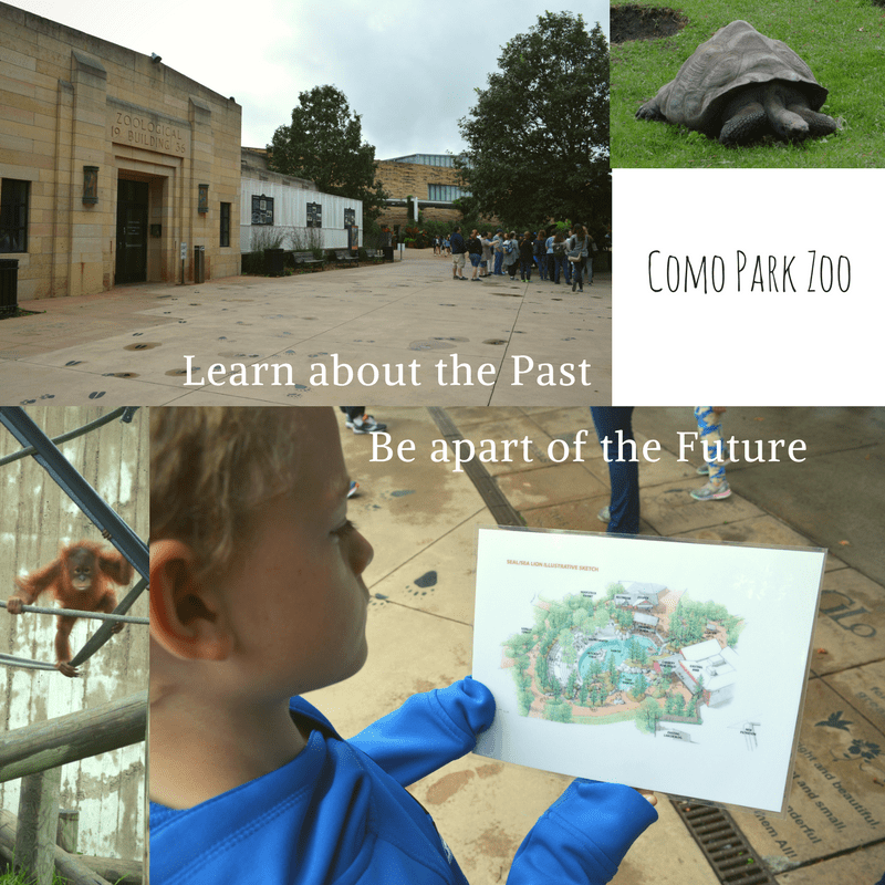 Como Park Zoo Historical Buildings and Future plans