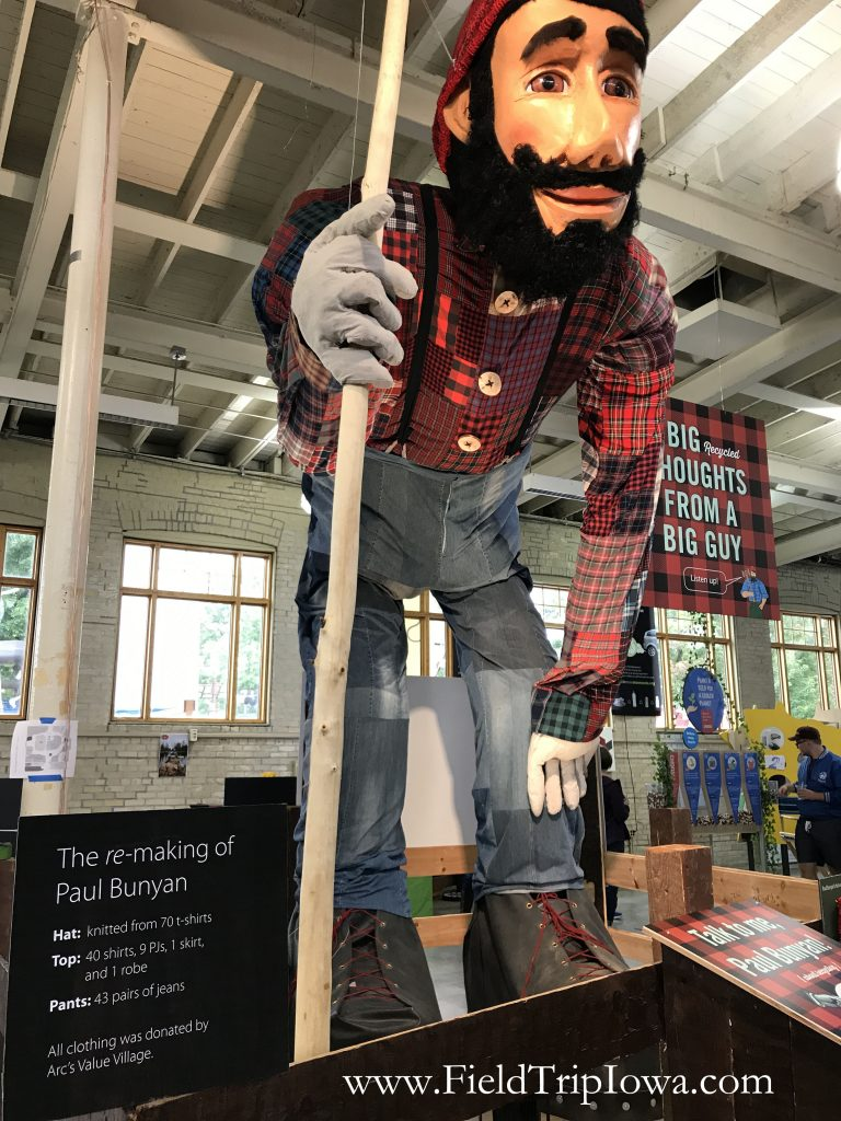 Paul Bunyan at Minnesota State Fair