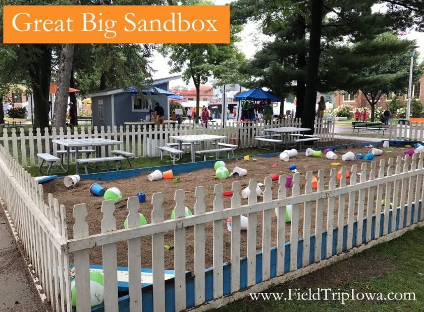 Great Big Sandbox at Minnesota State Fair