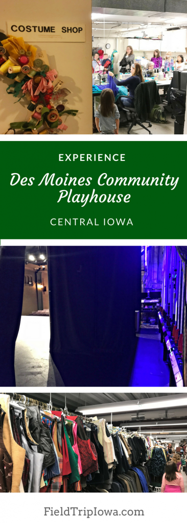 Students will enjoy a backstage tour of the local community playhouse.