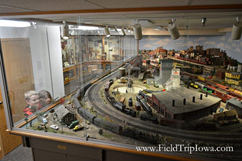 William J. Lenoir Model Railroad at Cedar Falls Historical Society in Iowa