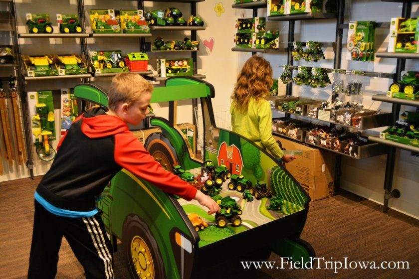 Toy display at John Deere Tractor And Engine Museum in Waterloo Iowa.