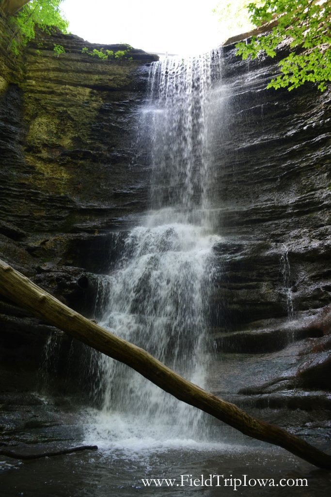 Lake Falls in Matthiessen State Park, IL
