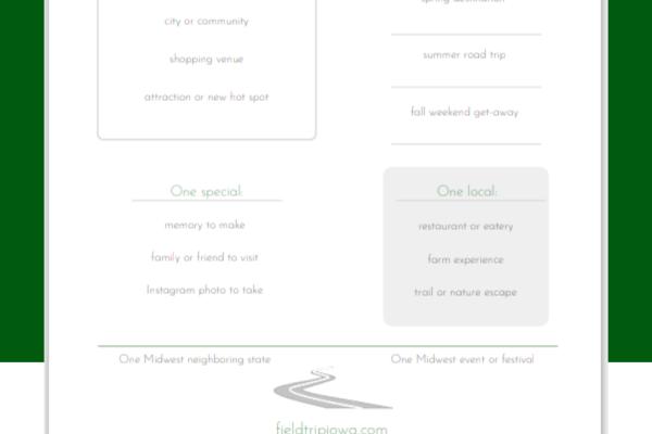 free printable travel planning sheet