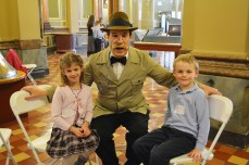 Brian Bopp roleplaying as President Teddy Roosevelt