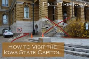 Iowa State Capitol entrance