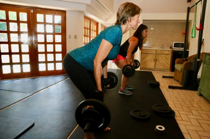 Bodypump at home in 2018