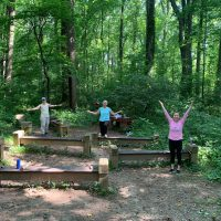Despite COVID, We're Still Working Out in the Woods