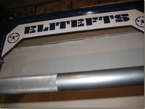 My EliteFTS power rack (i.e. my baby)