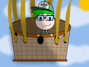 Hyper Gamer in Poptropica Blimp