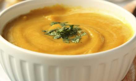 Holiday Butternut Squash and Sweet Potato Bisque
