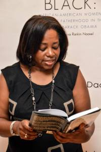 Yanick Rice Lamb shares memories of her father at a book signing in Washington, D.C. (Photo courtesy of Kenrya Rankin Naasel)