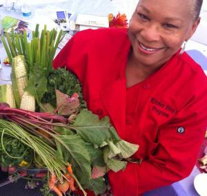 Eight chefs to teach plant-based cooking classes around Los Angeles through the Kitchen Divas program. (Photo: Black Women for Wellness)