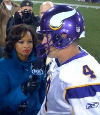 Pam Oliver has held a No. 1 sideline reporting position at Fox Sports for two decades. (Photo: Direct Sportslink)
