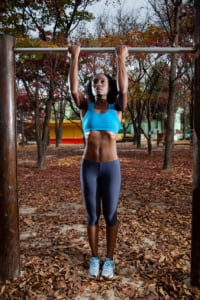 If a gym membership isn't in your budget, find a park with workout stations. (Photo: Greg Samborski/Getty Images)