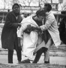 "Amelia Boynton Robinson was tear-gassed and nearly beaten to death on ""Bloody Sunday"" in Selma, Ala. (Photo: Public Domain)"