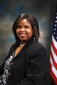 """""""They're just suing all of us,"""" says Yolonda Fountain Henderson, the first black mayor of Jennings, Mo."""
