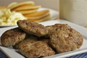 Quick & Savory Turkey Breakfast Sausage