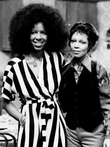 Sisters Natalie and Carole Cole at NBC's Burbank studios for separate tapings. Photo: Public Domain