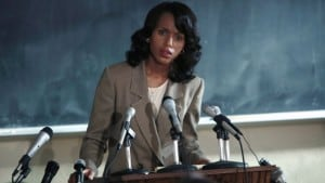 """""""It's about human beings trying to really struggle with issues of identity and morality and truth,"""" Kerry Washington says. (Photo: HBO)"""