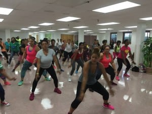 """""""Dance is about community. It's about finding your own rhythm of life and moving to the beat of your own drum,"""" says dance instructor Lottie Joiner, who organizes """"Let's Move"""" activities at Alfred Street Baptist Church in Alexandria, Va."""