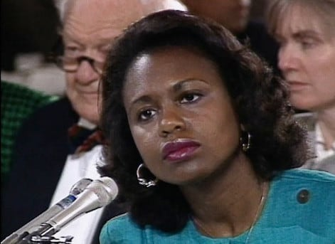 """""""I am really proud to be a part in whatever way of women becoming active in the political scene,"""" Anita Hill said. (Photo: American Film Foundation)"""