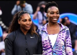 Serena and Venus Williams, wearing their game faces, have inspired legions of girls. (Photo: Ben Solomon/Tennis Australia)