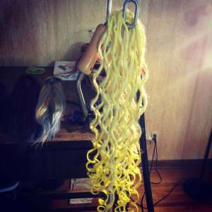 etsy synth dread hair extensions