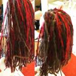 About 10 skinny double red blend fillers for an accent color