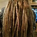 braids texture beads dreads natural tones