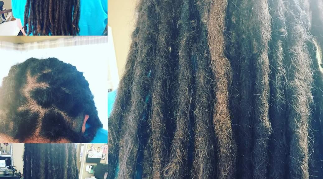 mature natural dreads