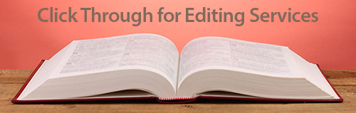 Editing Services for Authors