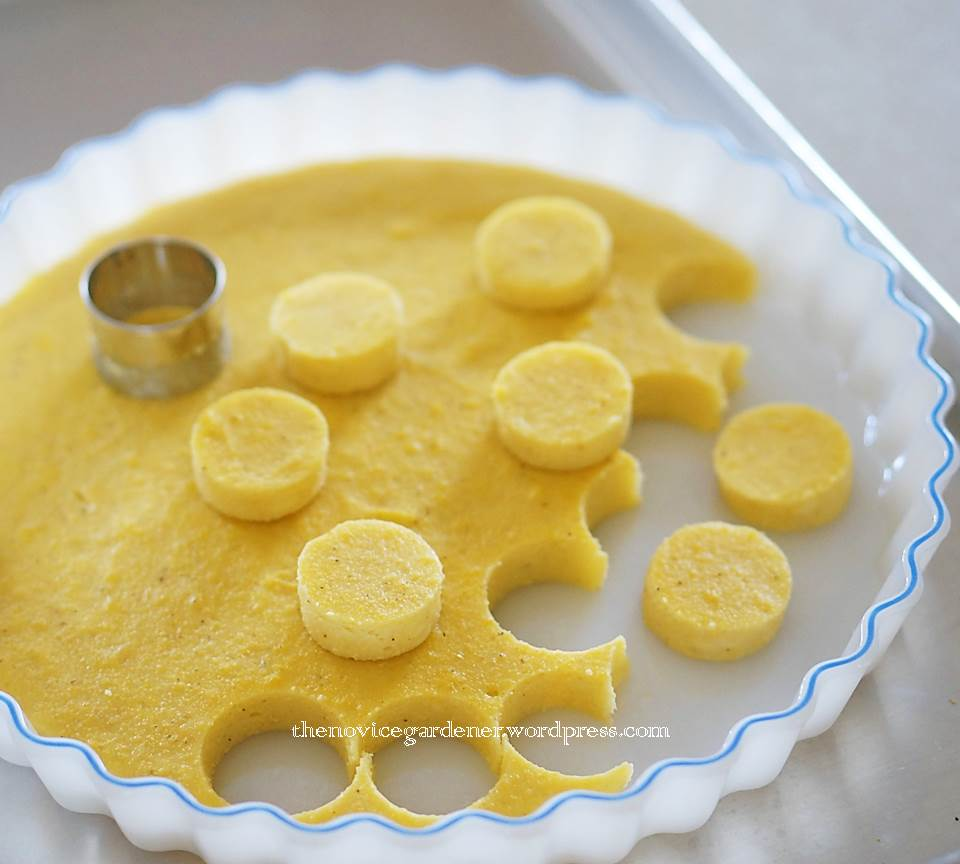how to make polenta canapes