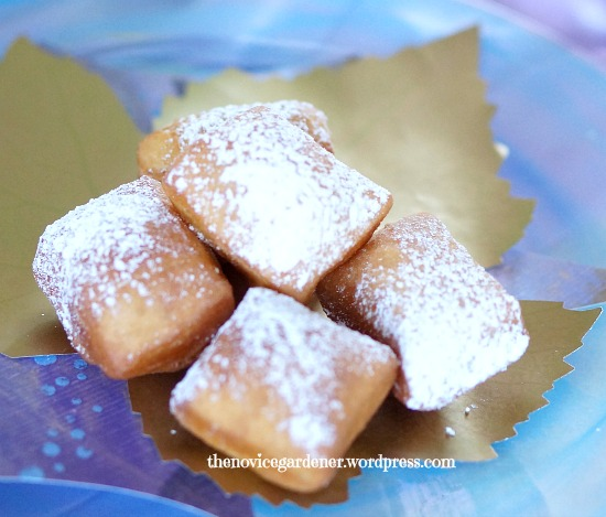 beignets doughnuts
