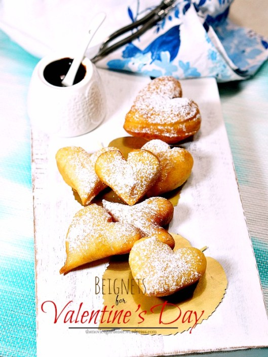 beignets for valentine's day